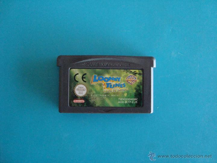 LOONEY TUNES GAME BOY ADVANCE NINTENDO ORIGINAL (Juguetes - Videojuegos y Consolas - Nintendo - GameBoy Advance)