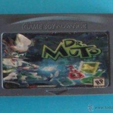 Videojuegos y Consolas: DR MUTO GAME BOY ADVANCE NINTENDO ORIGINAL. Lote 44218769