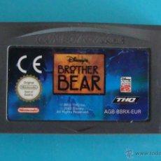 Videojuegos y Consolas: BROTHER BEAR GAME BOY ADVANCE NINTENDO ORIGINAL. Lote 44218817