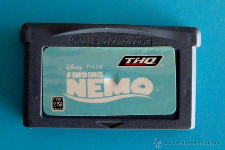 FINDING NEMO GAME BOY ADVANCE NINTENDO ORIGINAL (Juguetes - Videojuegos y Consolas - Nintendo - GameBoy Advance)