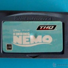 Videojuegos y Consolas: FINDING NEMO GAME BOY ADVANCE NINTENDO ORIGINAL. Lote 44218870