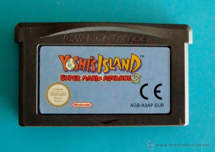 SUPER MARIO ADVANCE 3 YOSHI'S ISLAND GAME BOY ADVANCE NINTENDO ORIGINAL (Juguetes - Videojuegos y Consolas - Nintendo - GameBoy Advance)