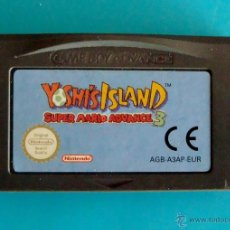 Videojuegos y Consolas: SUPER MARIO ADVANCE 3 YOSHI'S ISLAND GAME BOY ADVANCE NINTENDO ORIGINAL. Lote 61454482
