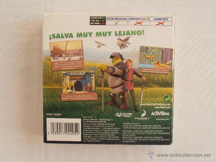 Videojuegos y Consolas: JUEGO SHREK TERCERO GAMEBOY ADVANCE NINTENDO GAME BOY GBA - Foto 2 - 44274342