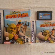 Videojuegos y Consolas: JUEGO SHREK SUPER SLAM GAMEBOY ADVANCE NINTENDO GAME BOY GBA. Lote 44274688