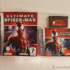 Videojuegos y Consolas: JUEGO ULTIMATE SPIDER-MAN GAMEBOY ADVANCE NINTENDO GAME BOY GBA. Lote 44274843