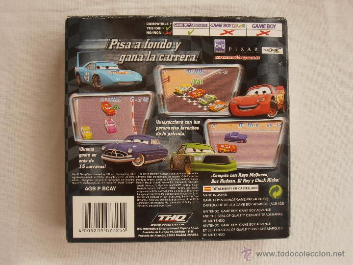 Videojuegos y Consolas: JUEGO CARS DISNEY GAMEBOY ADVANCE NINTENDO GAME BOY GBA - Foto 2 - 44274898