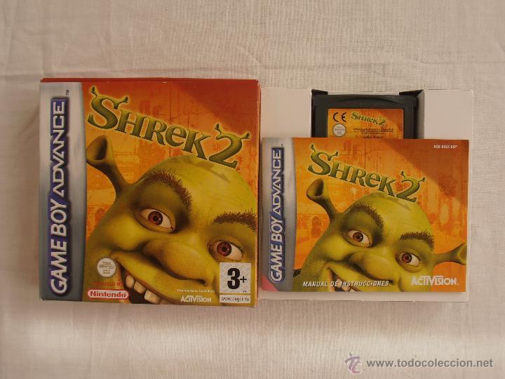 JUEGO SHREK 2 GAMEBOY ADVANCE NINTENDO GAME BOY GBA (Juguetes - Videojuegos y Consolas - Nintendo - GameBoy Advance)