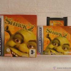 Videojuegos y Consolas: JUEGO SHREK 2 GAMEBOY ADVANCE NINTENDO GAME BOY GBA. Lote 44274953
