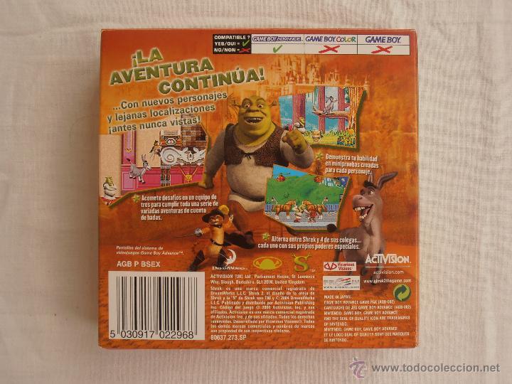 Videojuegos y Consolas: JUEGO SHREK 2 GAMEBOY ADVANCE NINTENDO GAME BOY GBA - Foto 2 - 44274953