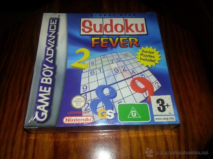 SUDOKU FEVER JUNIOR- NUEVO A ESTRENAR - PRECINTADO - GAMEBOY ADVANCE - GAME BOY (Juguetes - Videojuegos y Consolas - Nintendo - GameBoy Advance)