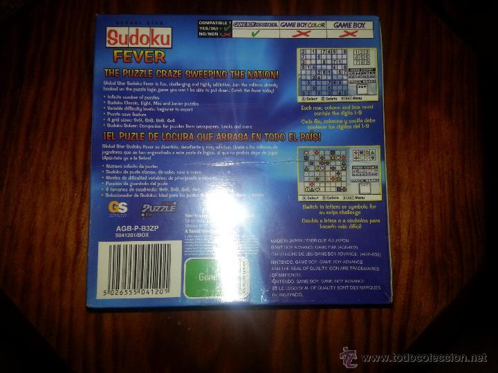 Videojuegos y Consolas: Sudoku Fever Junior- NUEVO A ESTRENAR - PRECINTADO - GameBoy Advance - Game boy - Foto 4 - 173477358
