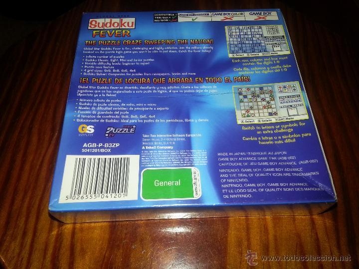 Videojuegos y Consolas: Sudoku Fever Junior- NUEVO A ESTRENAR - PRECINTADO - GameBoy Advance - Game boy - Foto 5 - 173477358