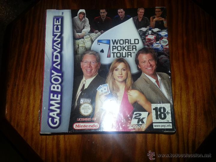 WORLD POKER TOUR - NUEVO A ESTRENAR - PRECINTADO - GAMEBOY ADVANCE (Juguetes - Videojuegos y Consolas - Nintendo - GameBoy Advance)