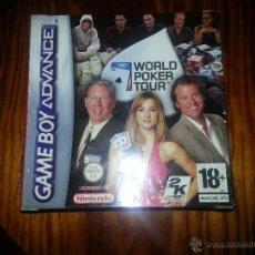 Videojuegos y Consolas: WORLD POKER TOUR - NUEVO A ESTRENAR, PRECINTADO - GAME BOY ADVANCE. Lote 45094803