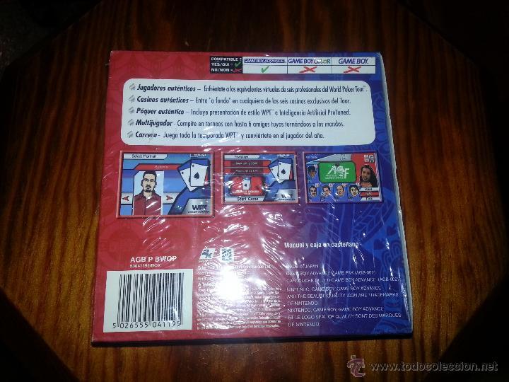 Videojuegos y Consolas: World Poker Tour - NUEVO A ESTRENAR - PRECINTADO - GameBoy Advance - Foto 2 - 45094803