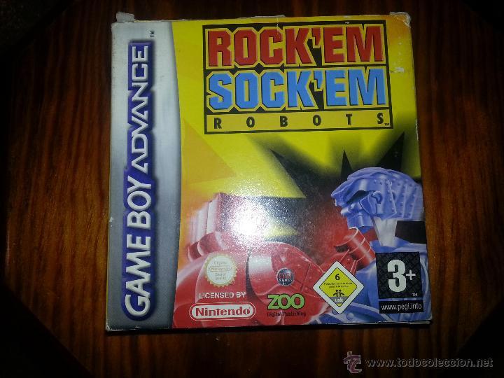 ROCKEN SOCKEN ROBOTS -COMPLETO - ÚNICO EN TODOCOLECCION - GAME BOY ADVANCE - ROCK EN SOCK EN (Juguetes - Videojuegos y Consolas - Nintendo - GameBoy Advance)