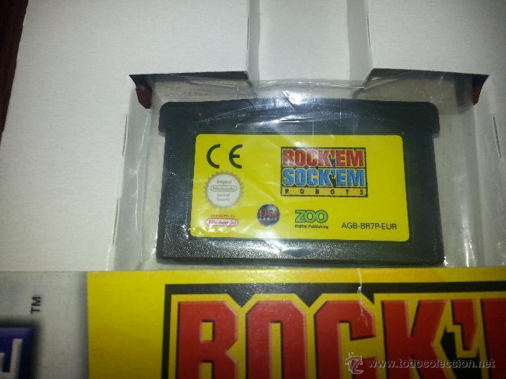 Videojuegos y Consolas: Rocken Socken Robots -Completo - Único en todocoleccion - Game Boy Advance - rock en sock en - Foto 5 - 45095337