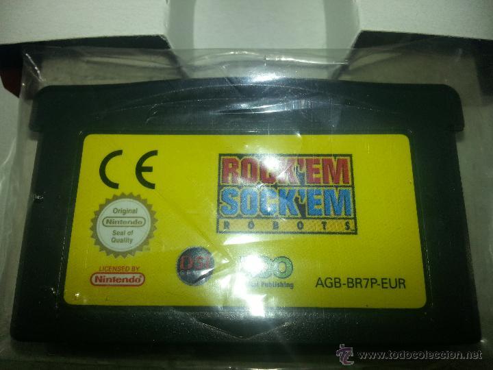 Videojuegos y Consolas: Rocken Socken Robots -Completo - Único en todocoleccion - Game Boy Advance - rock en sock en - Foto 6 - 45095337