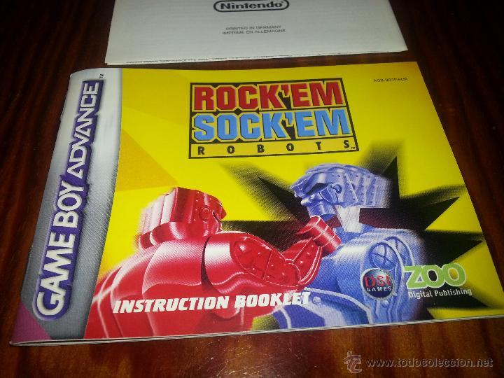Videojuegos y Consolas: Rocken Socken Robots -Completo - Único en todocoleccion - Game Boy Advance - rock en sock en - Foto 7 - 45095337