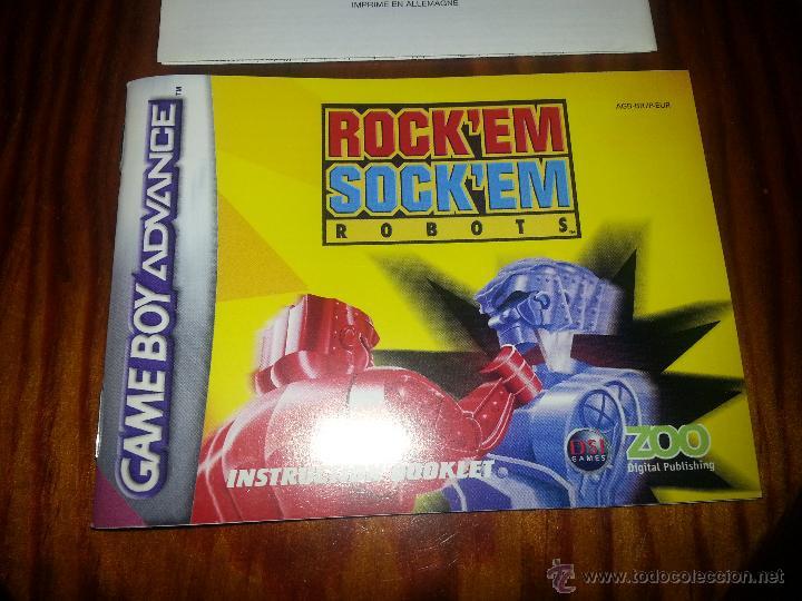 Videojuegos y Consolas: Rock´em Sock´em Robots - Completo - Único en todocoleccion - Game Boy Advance - rockem sockem - Foto 10 - 45095337