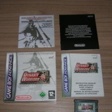 Videojuegos y Consolas: JUEGO GAME BOY ADVANCE DINASTY WARRIORS. Lote 45806749
