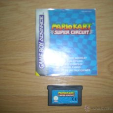 Videojuegos y Consolas: MARIO KART SUPER CIRCUIT. GAME BOY ADVANCE. . Lote 45998288