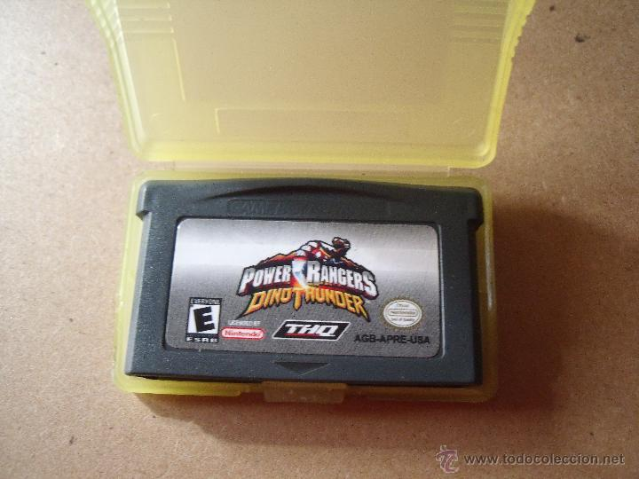 POWER RANGERS GAME BOY ADVANCE/DS INGLES CON CAJA (Juguetes - Videojuegos y Consolas - Nintendo - GameBoy Advance)