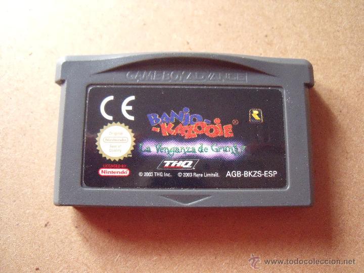 BANJO KAZOOIE GAME BOY ADVANCE/DS PAL ESPAÑA (Juguetes - Videojuegos y Consolas - Nintendo - GameBoy Advance)