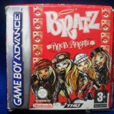 Videojuegos y Consolas: JUEGO GAME BOY ADVANCE BRATZ ROCK ANGELZ. Lote 47077752