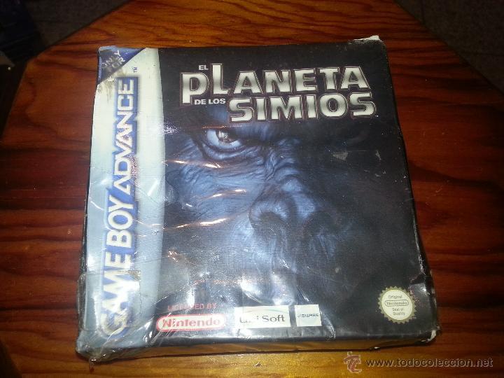 EL PLANETA DE LOS SIMIOS - PRECINTADO - GAMEBOY ADVANCE - NINTENDO - GAME BOY (Juguetes - Videojuegos y Consolas - Nintendo - GameBoy Advance)