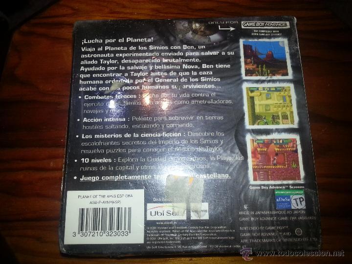 Videojuegos y Consolas: El Planeta de los Simios - Precintado - GameBoy Advance - Nintendo - Game Boy - Foto 3 - 47241765