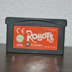 Videojuegos y Consolas: JUEGO DE LA CONSOLA NINTENDO GAMEBOY ADVANCE ROBOTS. Lote 47616350