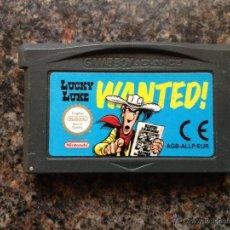 Videojuegos y Consolas: LUKY LUKE GAME BOY ADVANCE. Lote 48048975