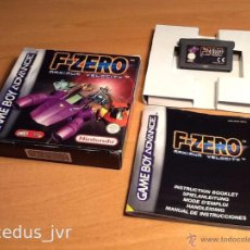 Videojuegos y Consolas: F-ZERO MAXIMUN VELOCITY JUEGO PARA NINTENDO GAME BOY ADVANCE GAMEBOY GBA COMPLETO. Lote 48157739