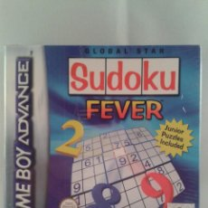 Videojuegos y Consolas: JUEGO GAME BOY ADVANCE SUDOKU FEVER NUEVO PRECINTADO SEALED PAL COMPATIBLE DS R795. Lote 50623902