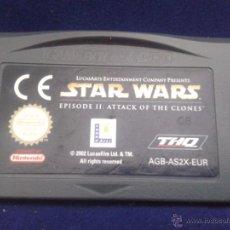 Videojuegos y Consolas: JUEGO GAME BOY ADVANCE STAR WARS ATTACK OF THE CLONES PAL R693. Lote 50624073