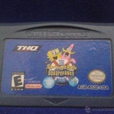 Videojogos e Consolas: JUEGO GAME BOY ADVANCE BOB ESPONJA SQUAREPANTS PAL R716. Lote 50624436