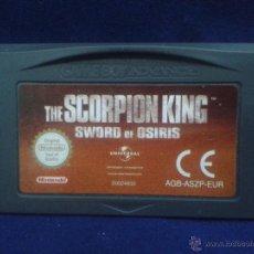 Videojuegos y Consolas: JUEGO GAME BOY ADVANCE THE SCORPION KING SWORD OF OSIRIS PAL R731. Lote 50624576