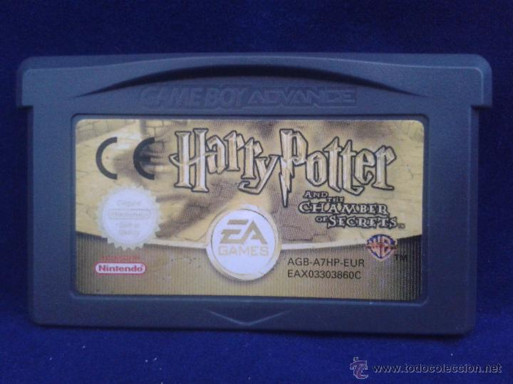 Juego Game Boy Advance Harry Potter And The Cha Comprar