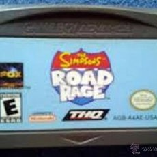 Videojuegos y Consolas: THE SIMPSONS ROAD RAGE - GAME BOY ADVANCE. Lote 51798300