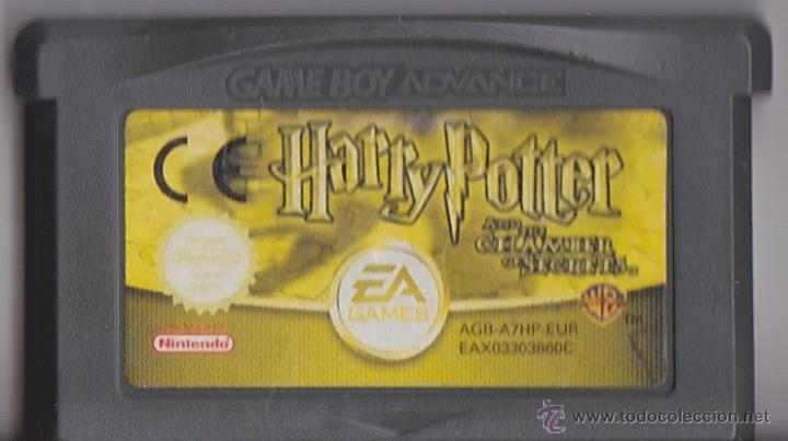Juego Gba Gameboy Advance Harry Potter Y La Ca Comprar