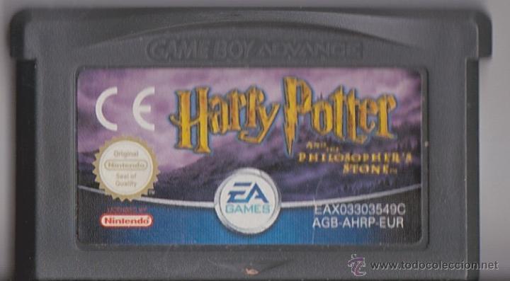 Juego Gba Gameboy Advance Harry Potter Y La Pi Comprar