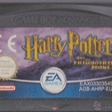 Videojuegos y Consolas: JUEGO GBA GAMEBOY ADVANCE: HARRY POTTER Y LA PIEDRA FILOSOFAL. Lote 53946584