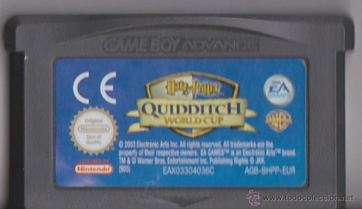 Juego Gba Gameboy Advance Harry Potter Quiddit Comprar
