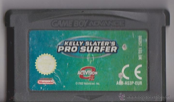 Juego Gba Gameboy Advance Kelly Slater S Pro S Comprar