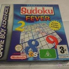 Videojuegos y Consolas: A ESTRENAR.PRECINTADO.GAME BOY GAMEBOY ADVANCE SUDOKU FEVER.VERSION ESPAÑOLA. Lote 54034472