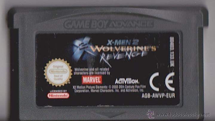 Juego Gba Gameboy Advance X Men 2 Wolverine S Comprar Videojuegos