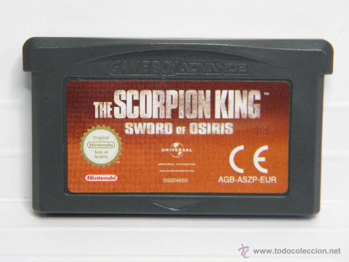 EL REY ESCORPION - THE SCORPION KING - GAMEBOY GAME BOY ADVANCE (Juguetes - Videojuegos y Consolas - Nintendo - GameBoy Advance)
