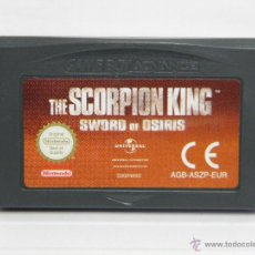 Videojuegos y Consolas: EL REY ESCORPION - THE SCORPION KING - GAMEBOY GAME BOY ADVANCE . Lote 54913778